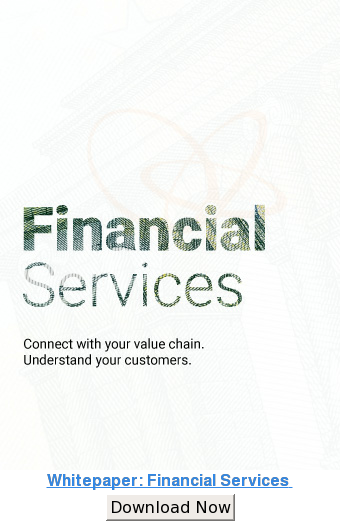 Whitepaper: Financial Services  Download Now