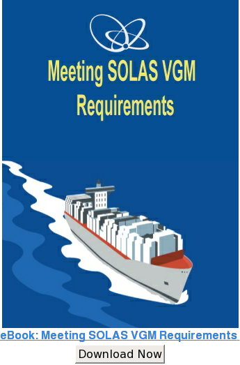 Meeting SOLAS VGM Requirements  Strategize now Download Now