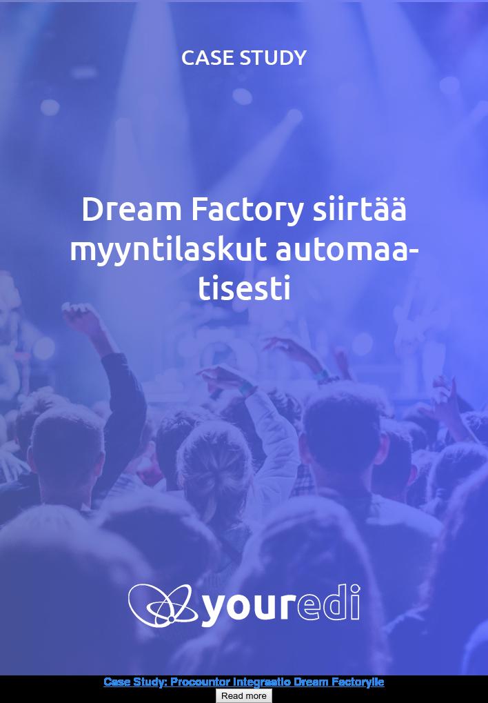 Case Study: Procountor Integraatio Dream Factorylle Read more