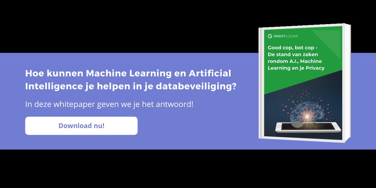 Hoe kunnen Machine Learning en Artificial Intelligence je helpen in je databeveiliging?