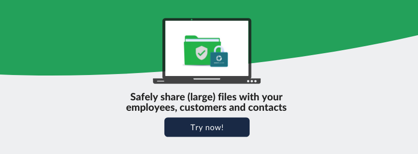 send big files securely