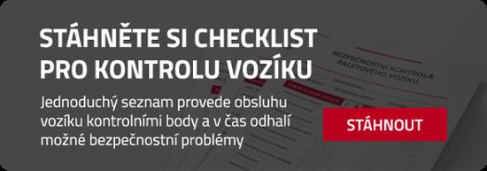 Checklist paletové vozíky