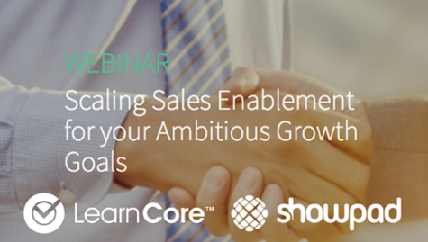 Watch the Replay - Scaling Sales Enablement for Your Ambitious Growth Goals