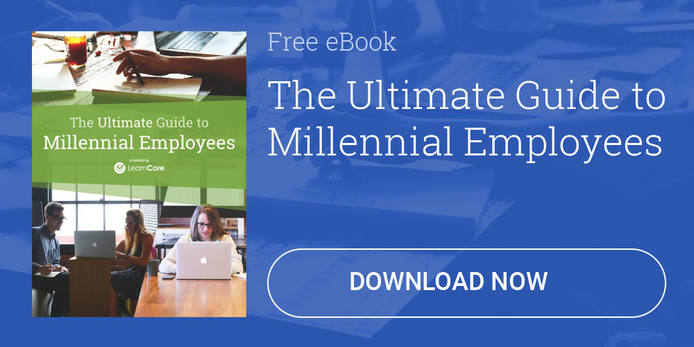 Download LearnCore's Ultimate Guide to Millennial Employees