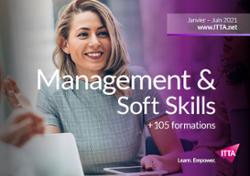 Management et Soft Skills