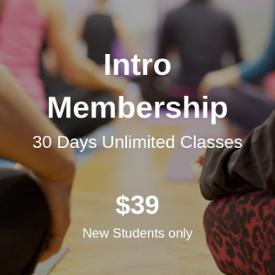Intro Membership