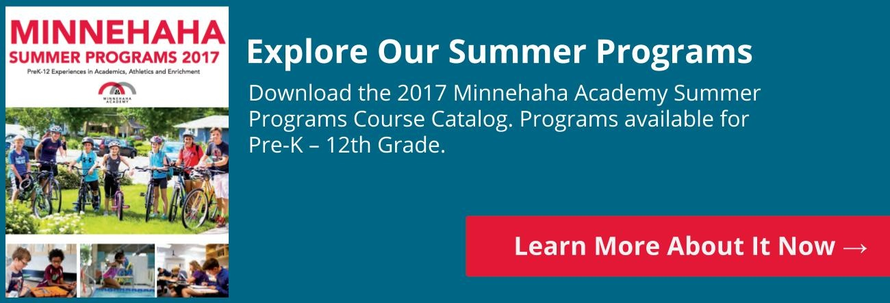 Learn More About Our Summer Programs