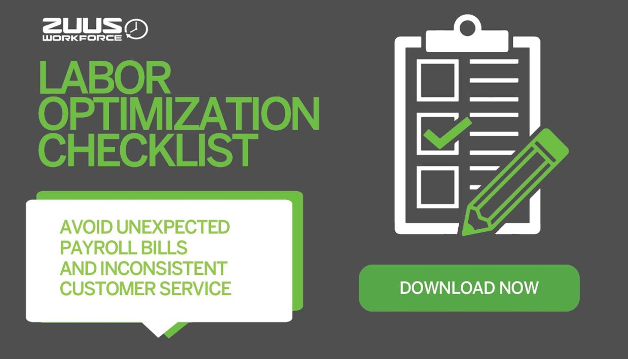 Labor Optimization Checklist