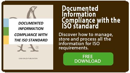 Ebook información documentada, cumplimiento a la norma ISO
