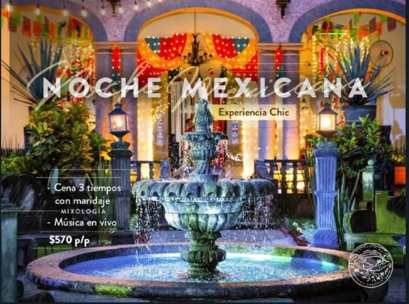 noche mexicana sauza