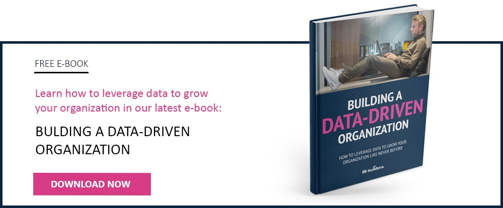 Download free e-book: Building a data-driven organization