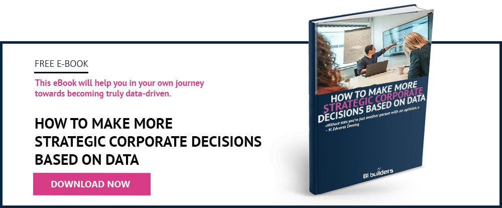 How to make more strategic corporate decisions based on data