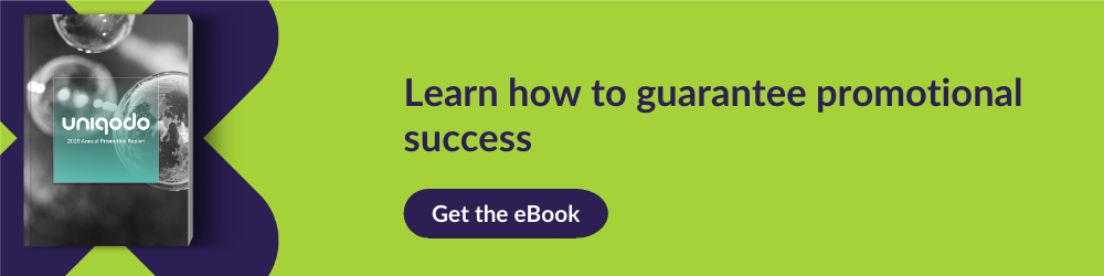CTA for using Annual report eBook to guarantee promotional success