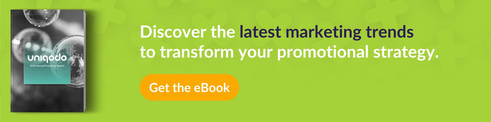 CTA promoting Annual report of consumer trends