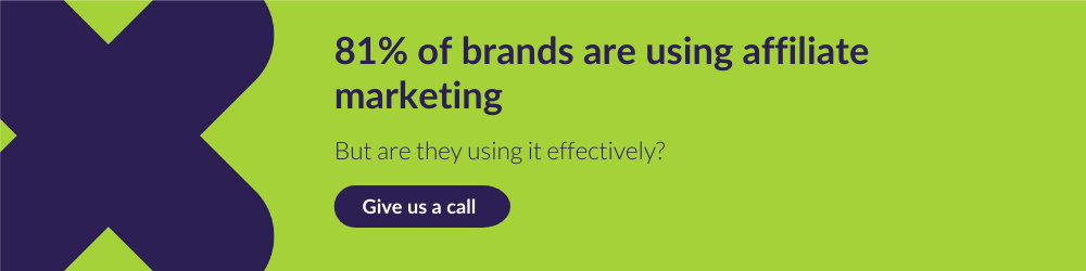 CTA for call to improve brands' use of affiliate marketing