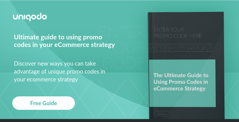 promo codes strategy
