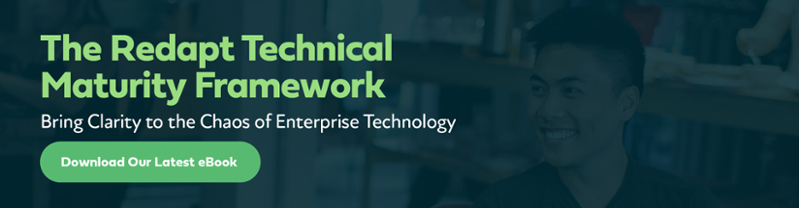 The Redapt Technical Maturity Framework eBook - Download Now
