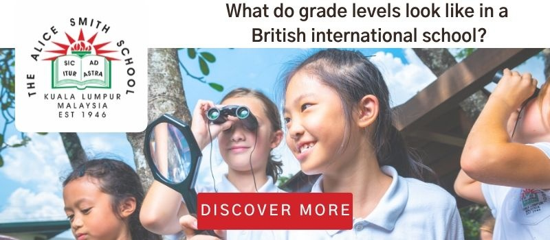 Click here to discover what grade levels look like in a British international school