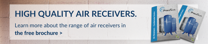 Learn more about the range of air receivers in the free brochure
