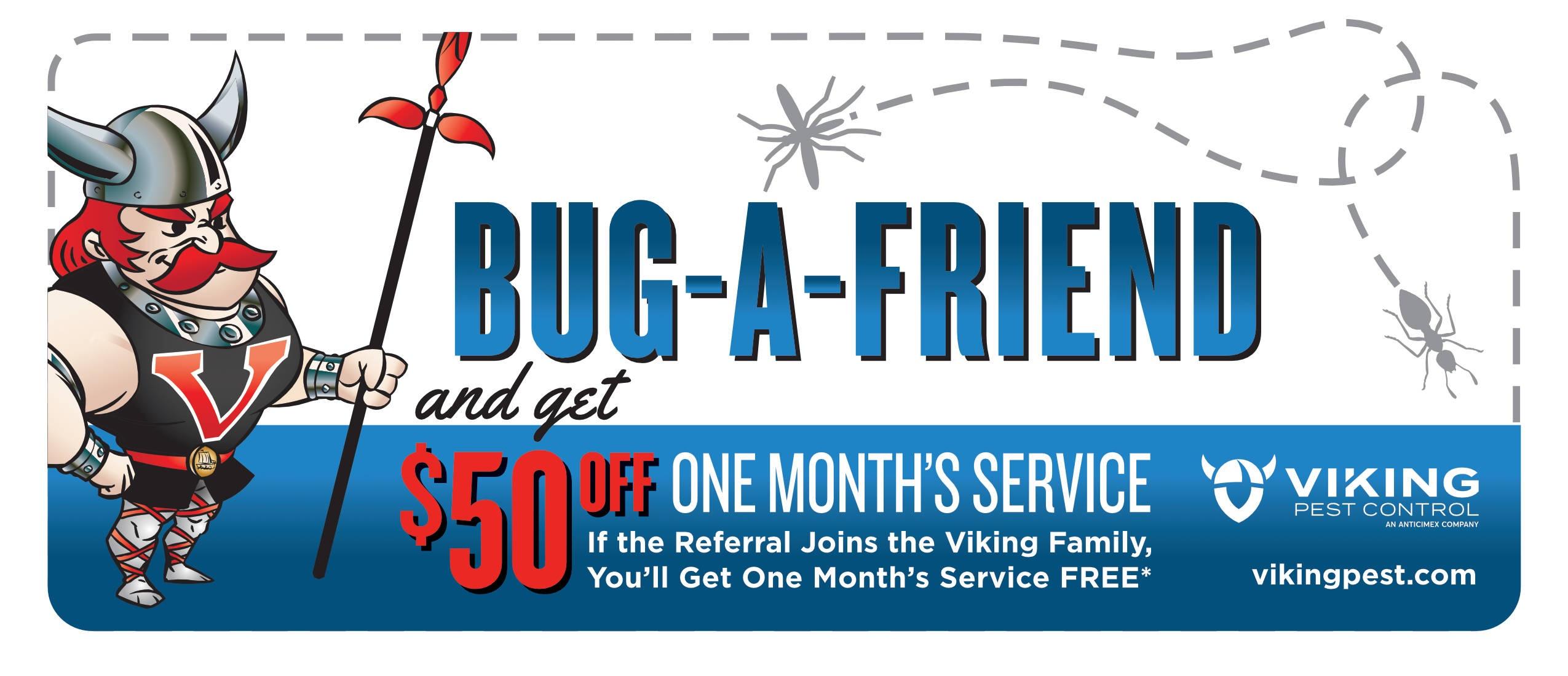 Commercial Pest Control Bug a Friend