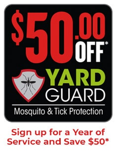 $50 Off Yard Guard