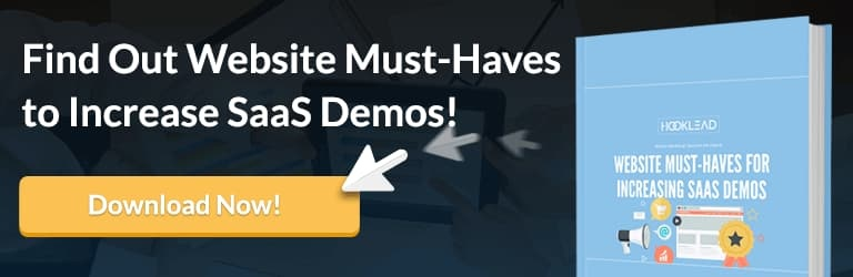 Increase SaaS Demos