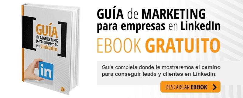 Guía de Marketing para empresas en Linkedin