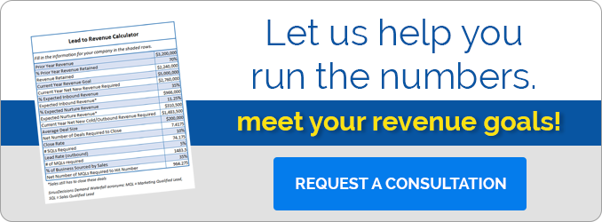 Let us help you meet your revenue goals.