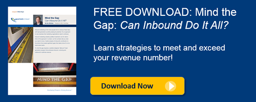 Download Mind the Gap: Can Inbound Do It All