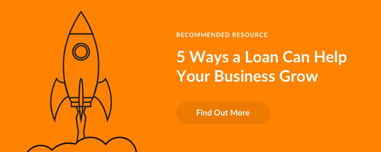 5 ways a loan can help your business grow - Download infographic B