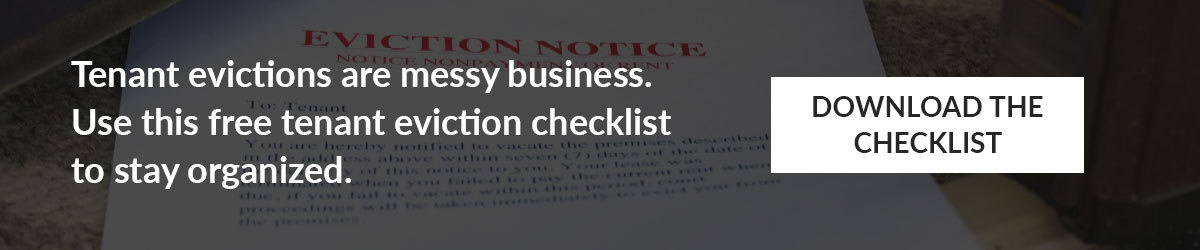 Free Tenant Eviction Checklist