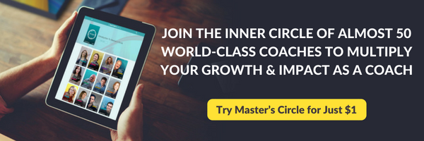 Multiply your coaching skills, growth and impact with world-class coaches in Master's Circle