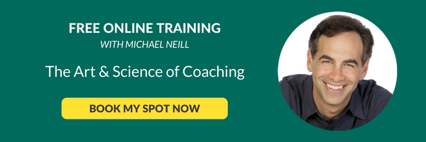 Free Online Training with Michael Neill to discover the Art & Science of Coaching