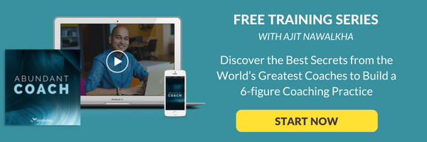 free online training to build a 6-figure coaching practice