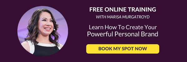 free online training to create your powerful personal brand