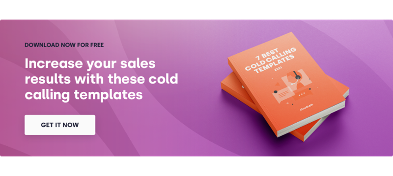 Increase your sales results with these cold calling templates