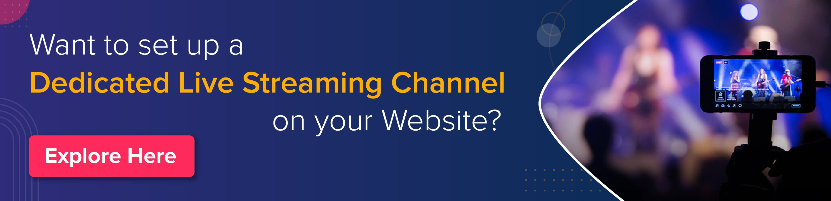 How to Set Up Live Streaming Video on Website