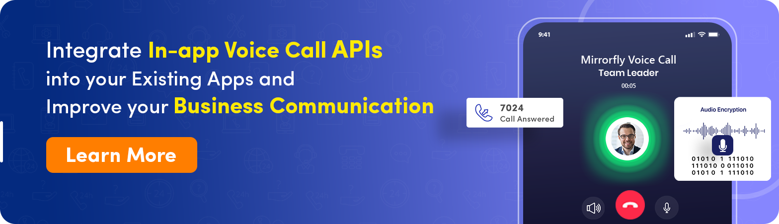 integrate video call api for existing apps