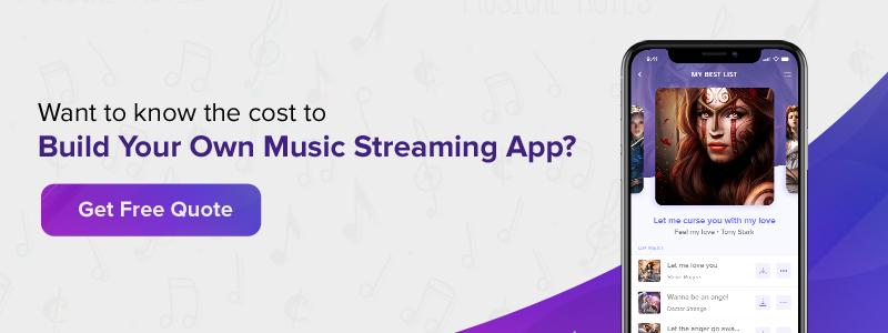 Build Music Streaming App