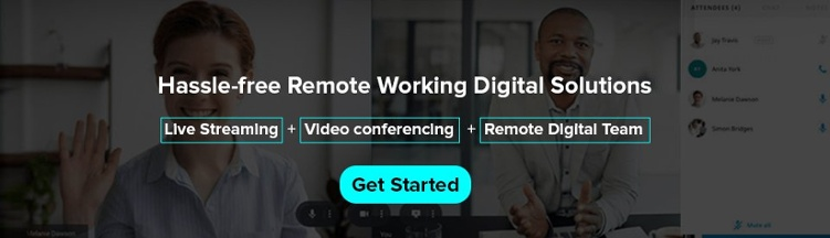 Remote working solution
