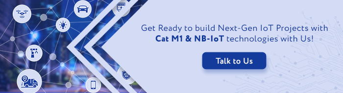 Cat M1 and NB IoT
