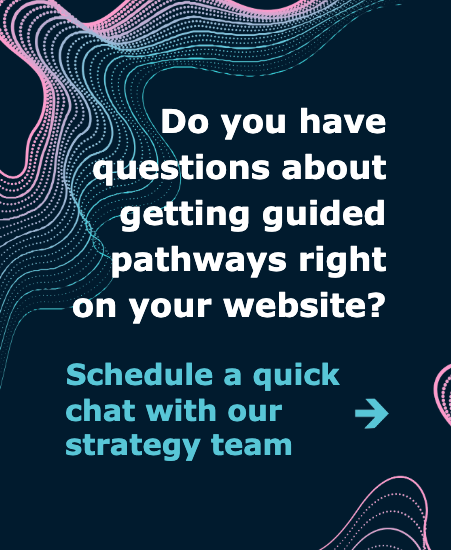 Request a chat with our strategy team
