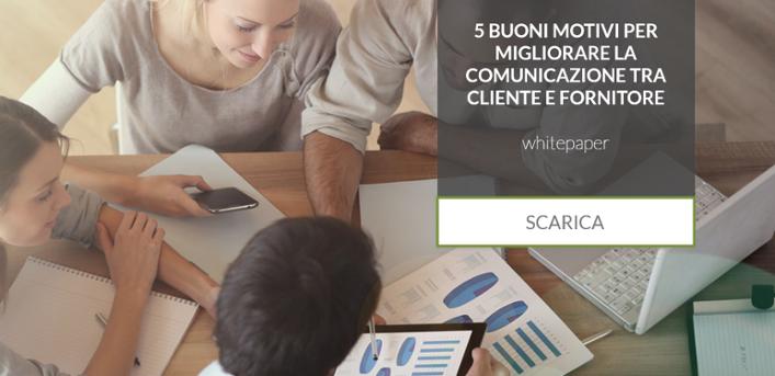 migliorare la comunicazione cliente e fornitore