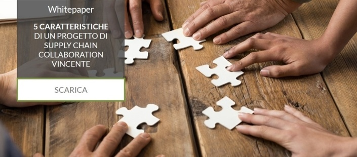Scarica il whitepaper sulle 5 caratteristiche di un progetto di supply chain collaboration vincente