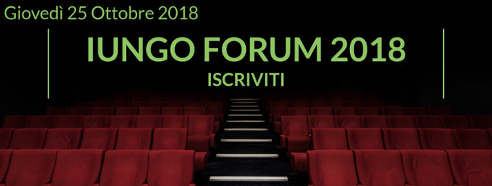 Iscriviti - IUNGO Forum 2018