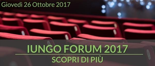 Scopri di più - IUNGO Forum 2017