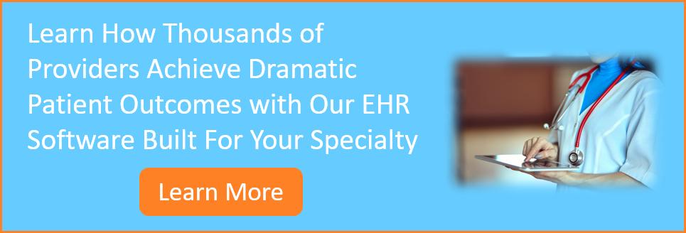 Specialty EHR