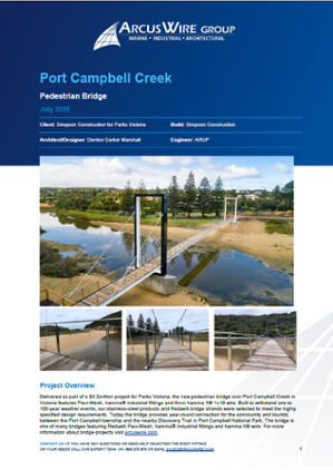 Port Campbell Project Card