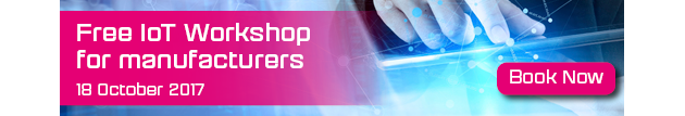 IoT Workshop - click here to book your place