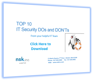 Top 10 Security Dos and Donts
